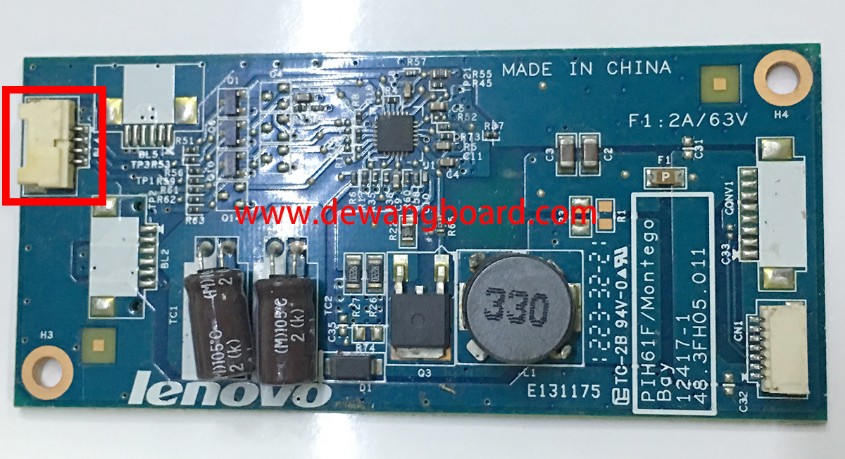 12417-1 48.3FH05.011 lenovo inverter board 4p