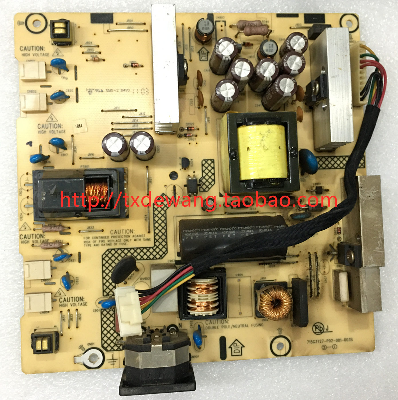 715G3727-P02-001-003S ASUS VE276 VE276N power supply board