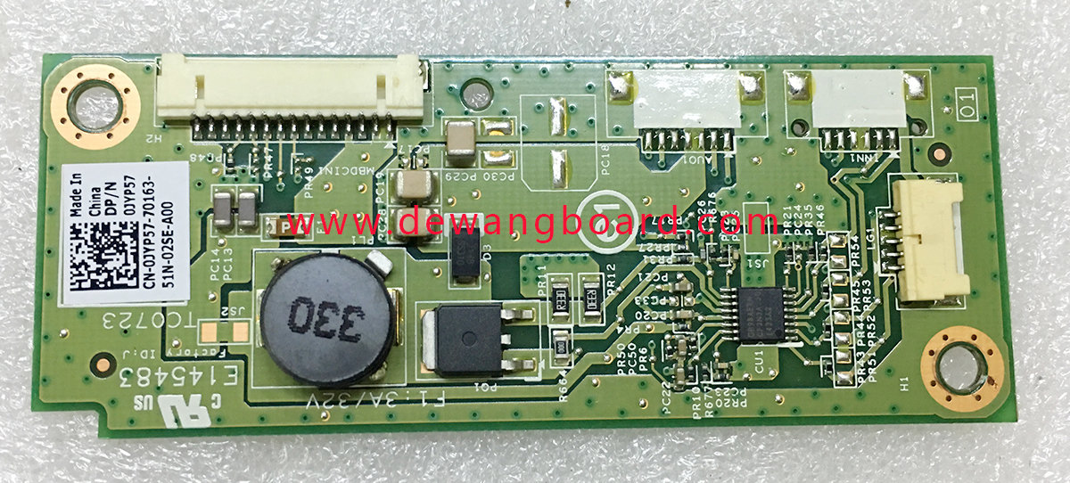 13542-1 48.3NH22.011 Dell 3015 3030 3010 backlight boost board