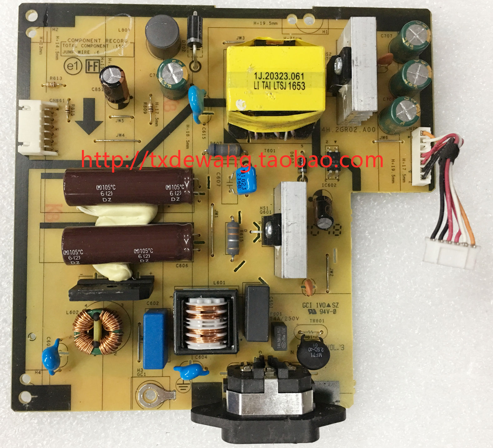 dell U2415B U2415 power supply board 4H.2GR02.A00