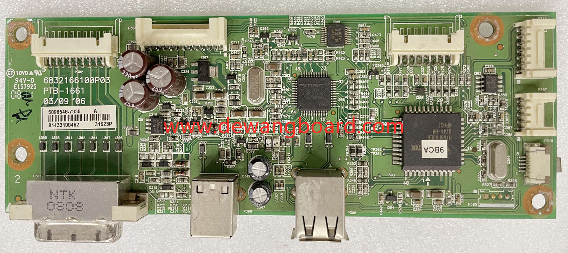6832166100P03 PTB-1661 DELL 3007WFPHC driver/ main board