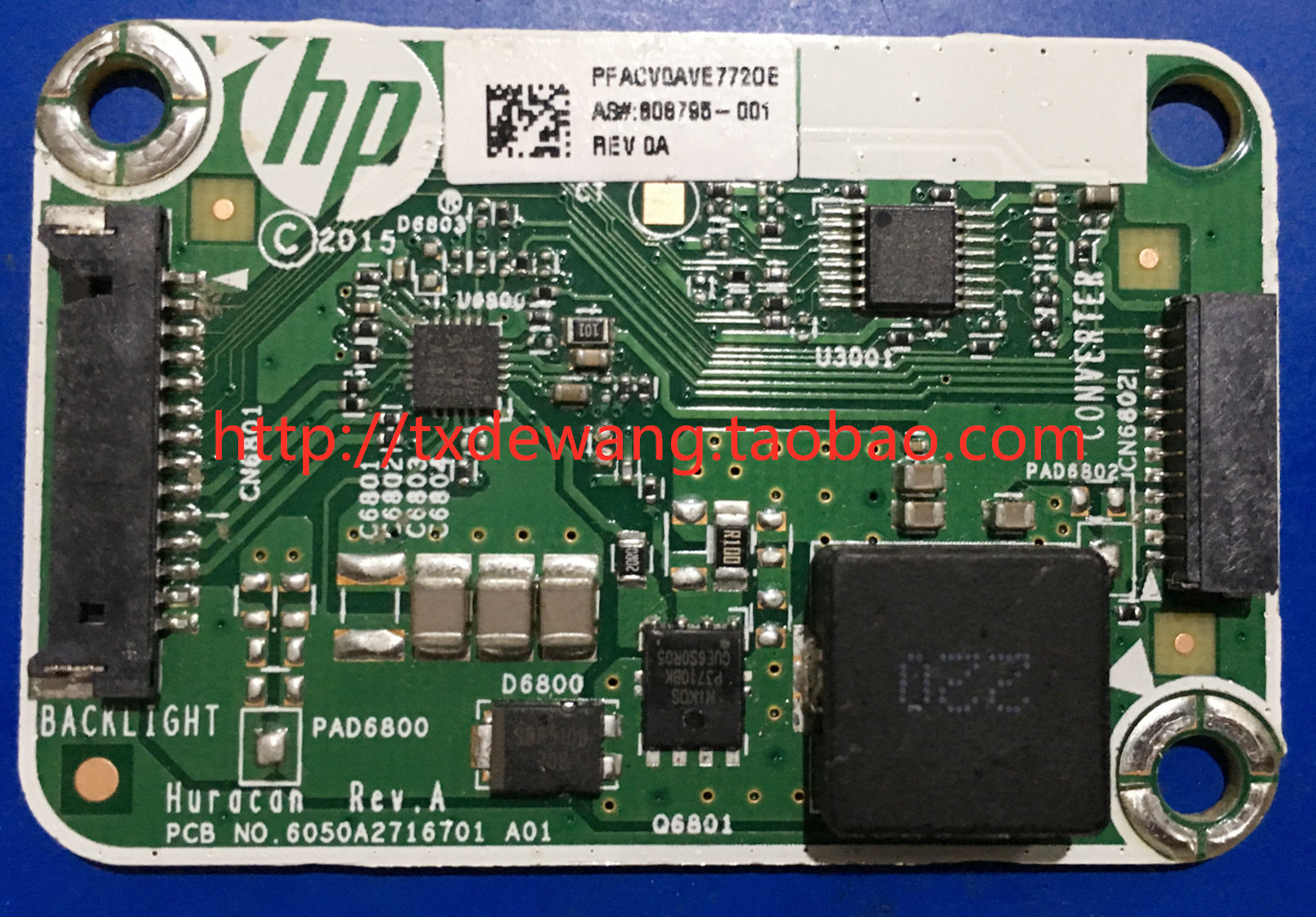HP 600G2 808795-001 backlight / boost board 6050A2716701 A01