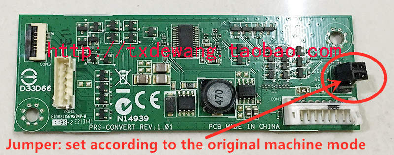 N14939 D33D66 PRS-CONVERT REV:1 backlight /boost board