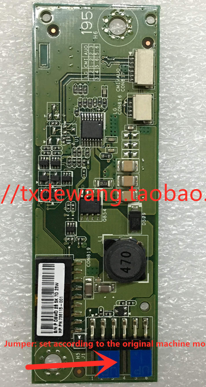 PS-CVB195 REV:1.02 HP backlight /boost board