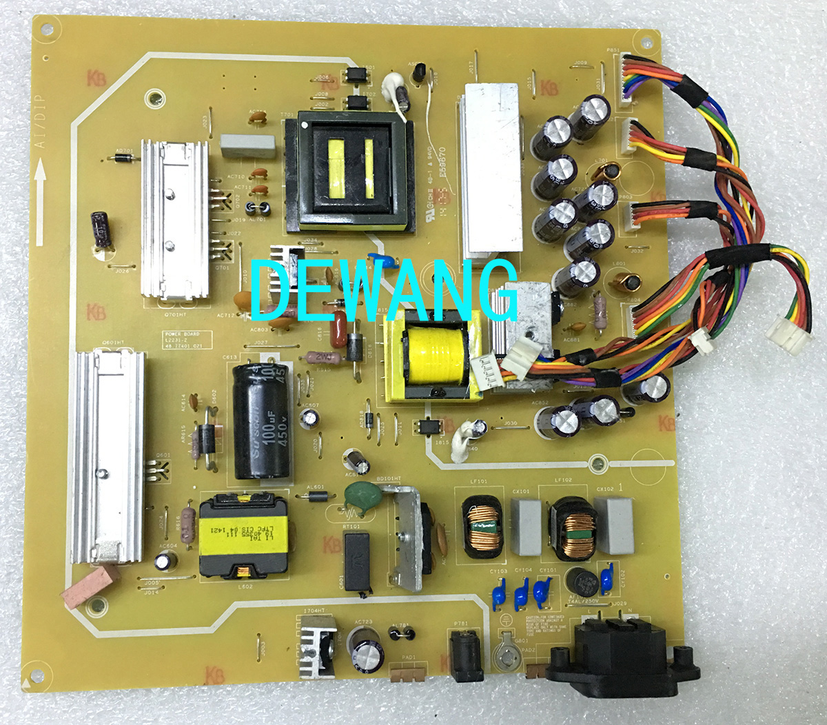 L2231-2 48.7T401.021 dell U3014 U3014T power supply board