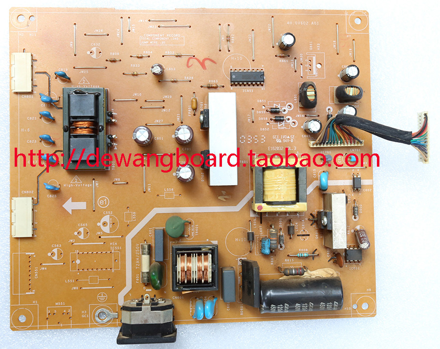 philips 240S 240B1 supply power board 4H.0V602.A01