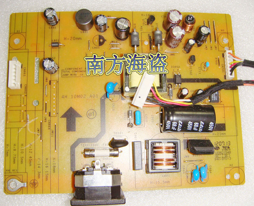 4H.10M02.A01 acer G195HQL supply power board