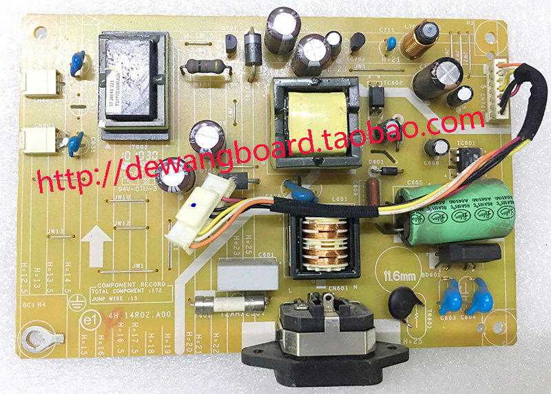 4H.14R02.A00 DELL IN1920B supply power board