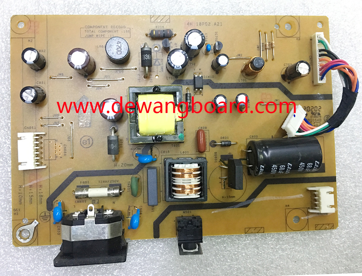 4H.18P02.A21 BENQ RL2240H power supply board