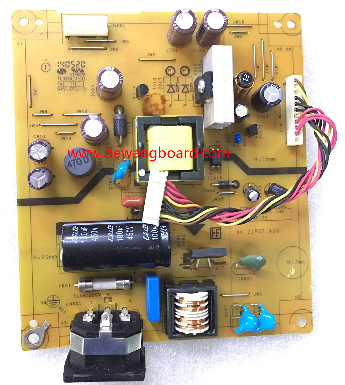 4H.21P02.A00 HP E221 power supply board