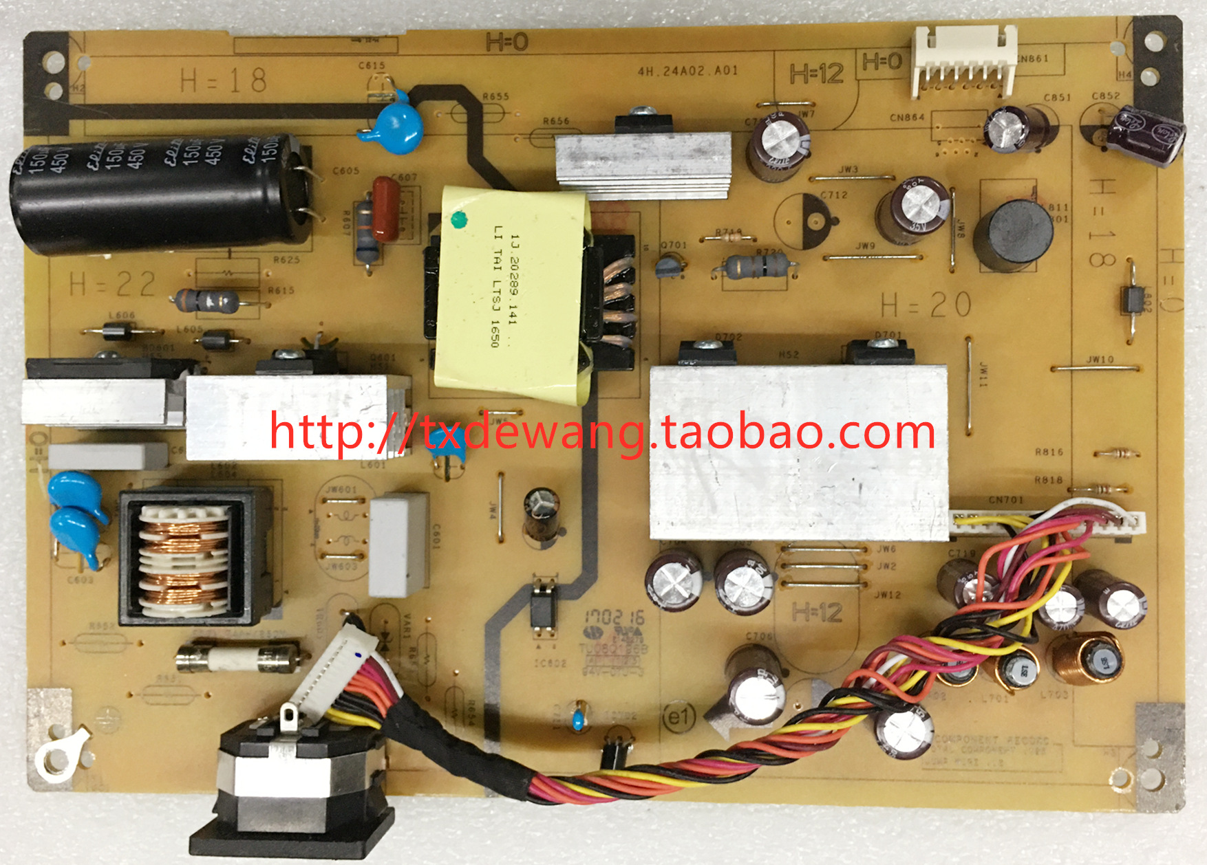ASUS VN279 supply power board 4H.24A02.A01 M270Q001