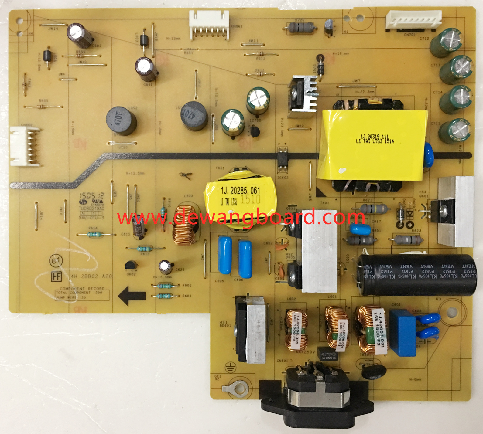 4H.2BB02.A20 dell U3415Wb supply power board