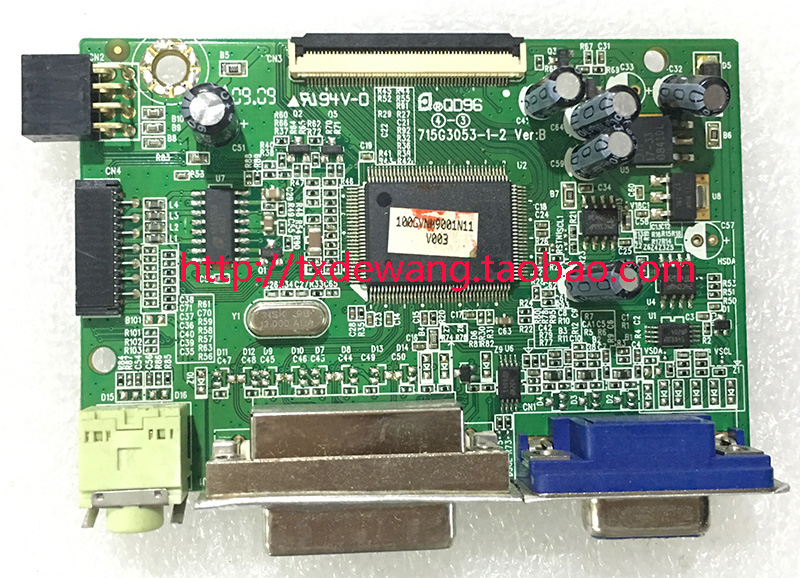 ViewSonic VX1940W VS11868 driver board 715G3053-1-2
