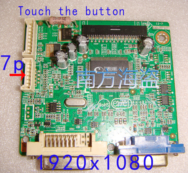 715G3329-1-2 driver board 1920X1080 Touch the button