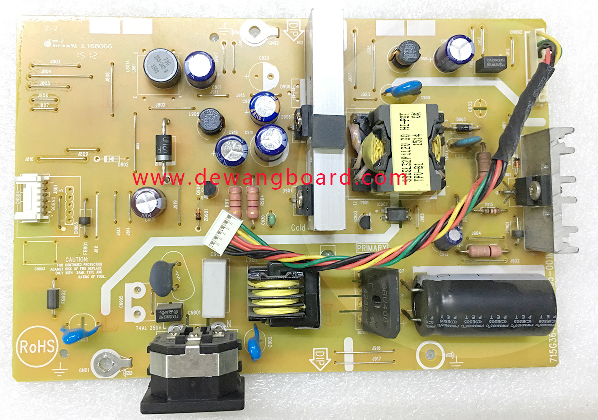 715G3647-P03-005-001M philips 273V5 273V5L supply power board