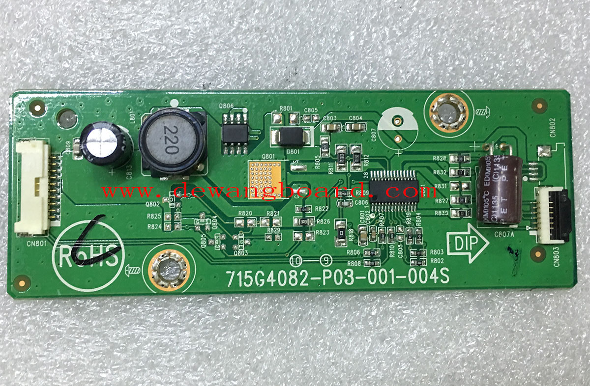 715G4082-P03-001-004S ACER S231HL inverter board (6pin)