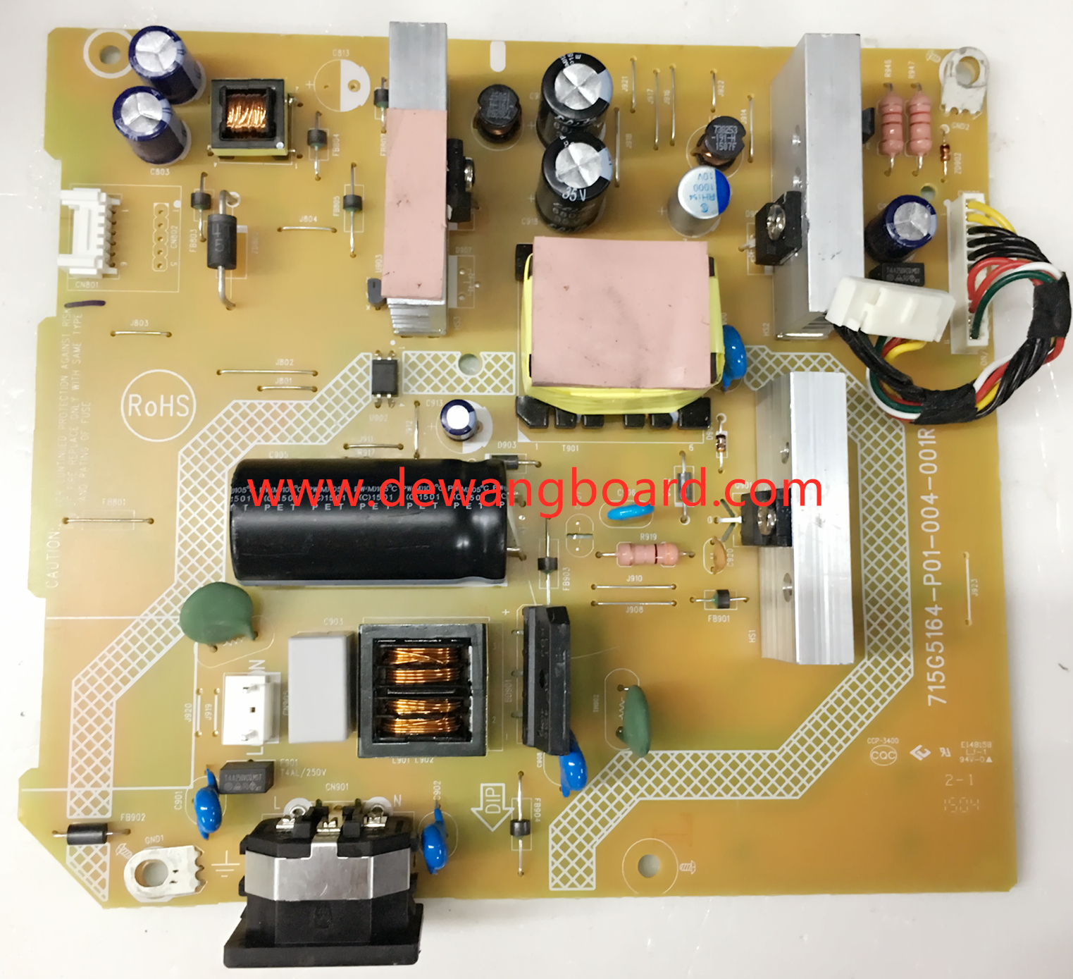 715G5164-P01-004-001R PHILIPS 242G5D supply power board M240HW01