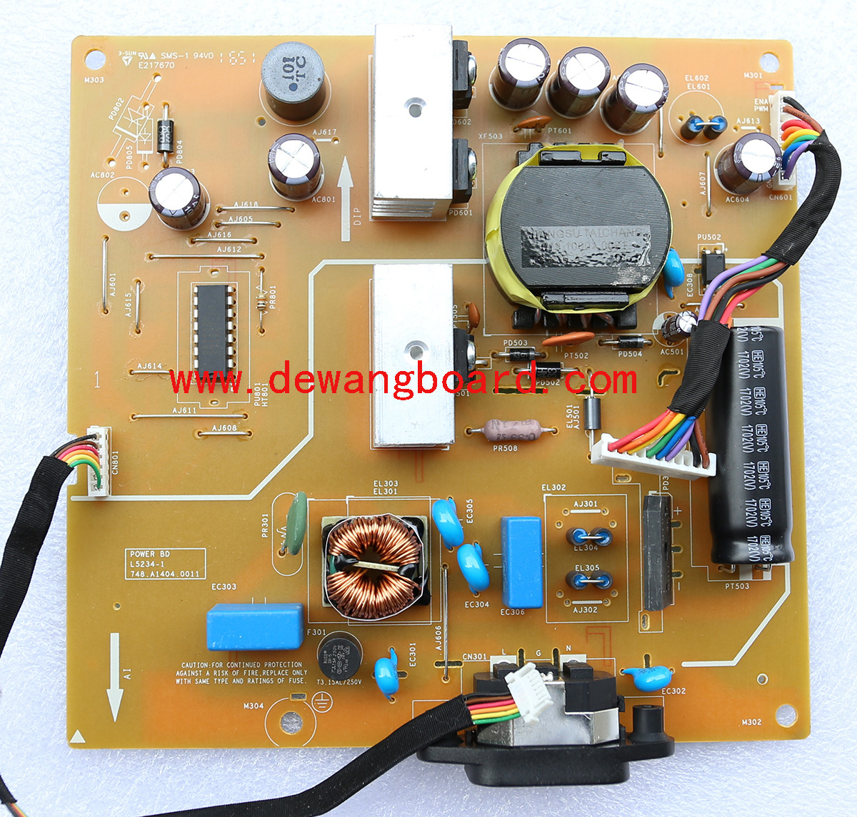 dell U2417H supply power board 748.A1404.0011