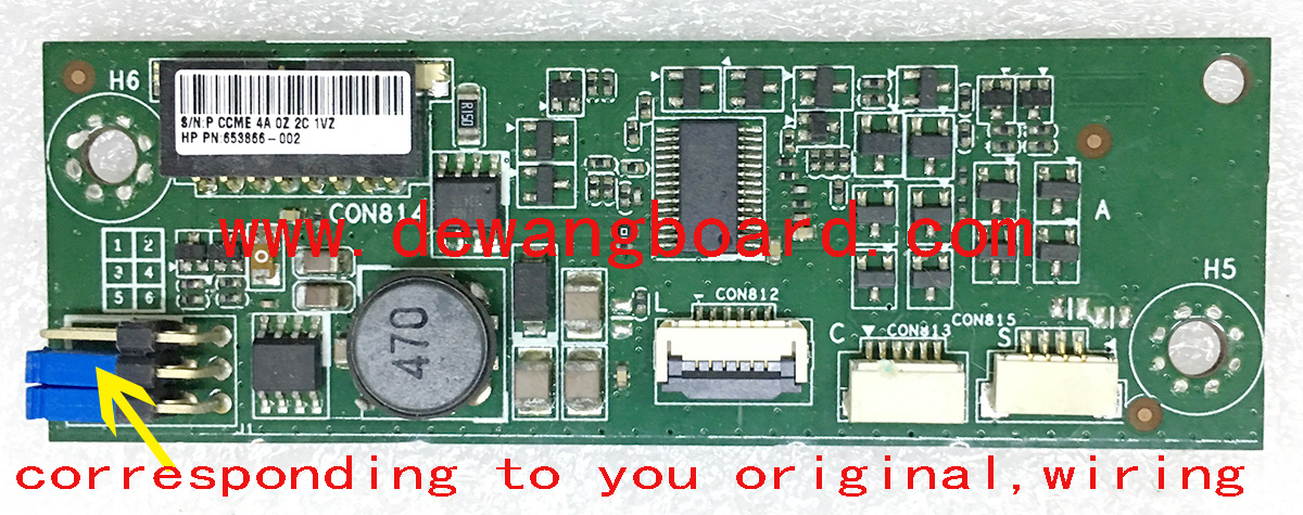 hp omni 200 backlight inverter board APP80-NK CVB20