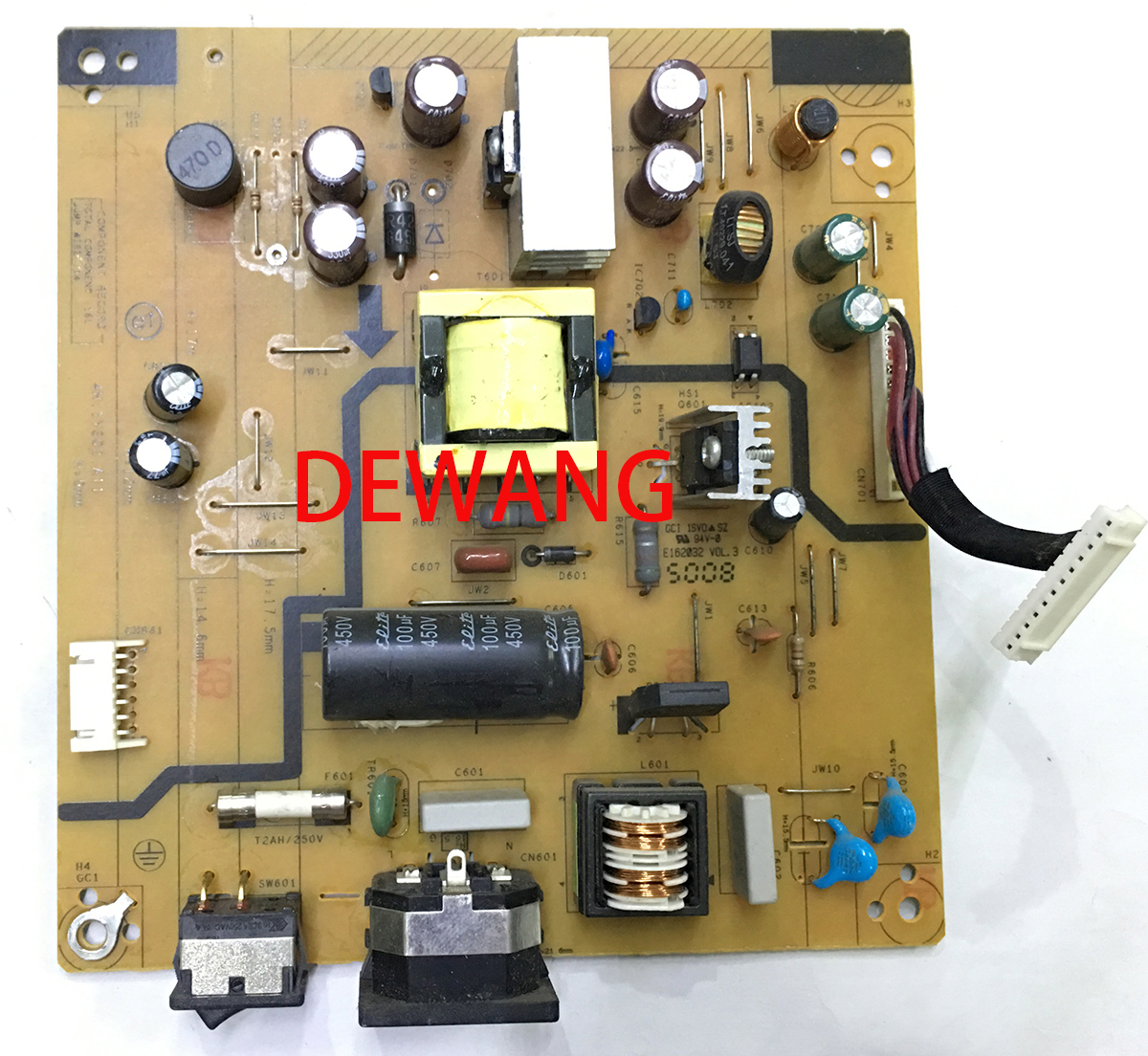 4H.1Y302.A11 BENQ BL2410 supply power board