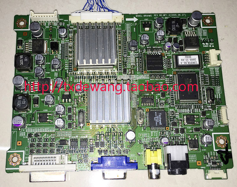 BN41-00607C Original samsung 214T main board