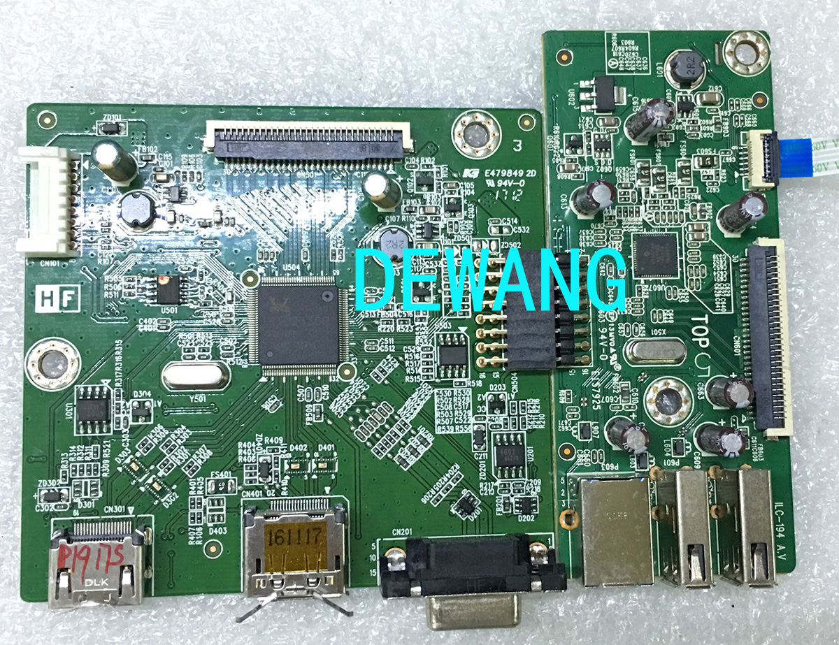 dell P1917S main board+inverter board ILIF-498 ILC-194