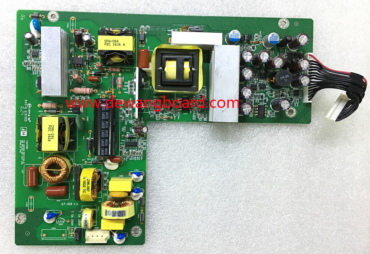 ILP-058 492A006E1400H01 dell u2413 u2413f power supply board