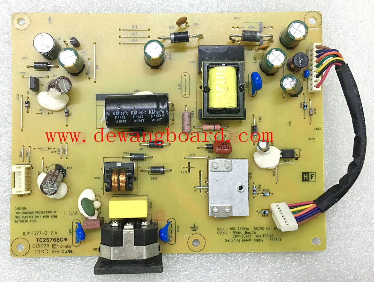 dell E2314H E2314HF power board ILPI-327-2 V.A 491A010S140ZH04