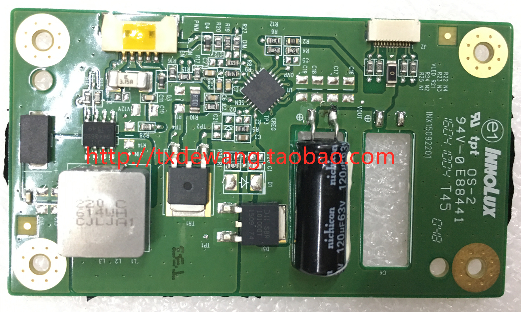 INX15092201 6205B0000N200 boost board ,constant current board