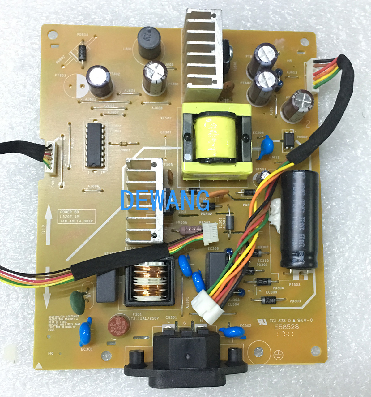 L5202-1P 748.A0F14.001P dell P2418HT power supply board