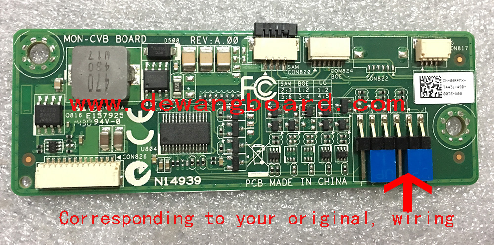 MON-CVB BOARD N14939 Dell Inspiron 2350 224HC Inverter board