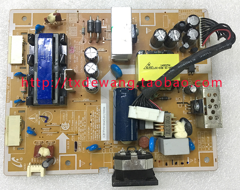 PWI1904SJ samsung 943 943NW 943N T190 T190G supply power board
