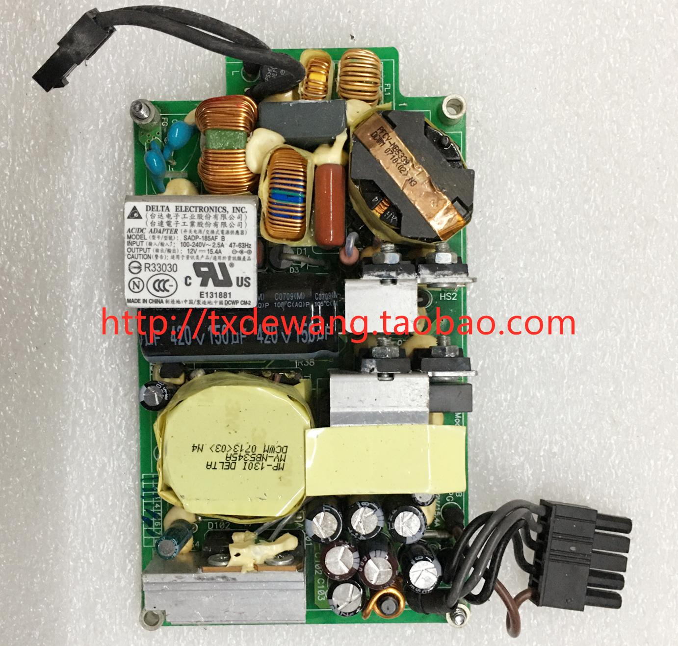 SADP-185AF B Apple imac supply power board