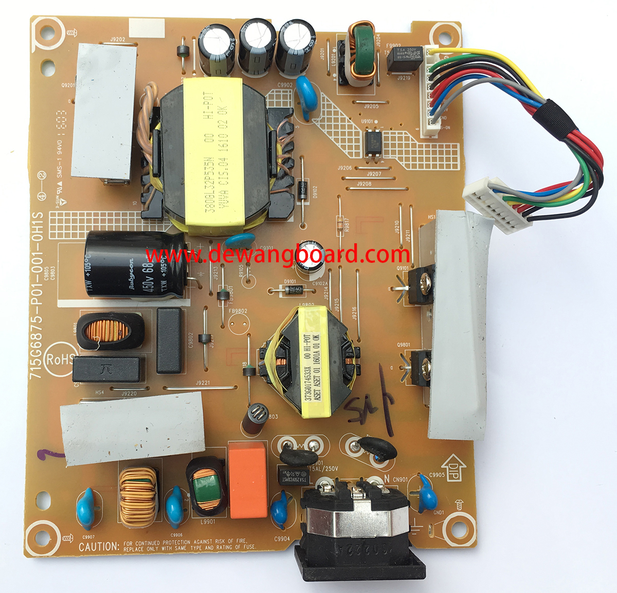 715G6875-P01-001-0H1S dell U2715HC power board