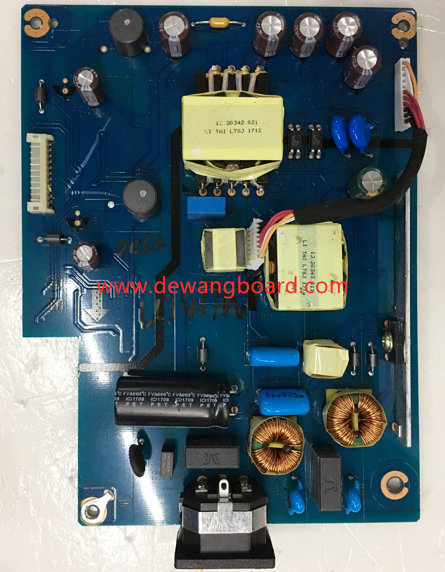 4H.39T02.A01 dell U3417W supply power board